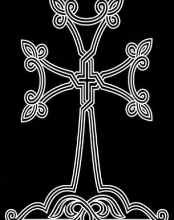 армянский крест 5466