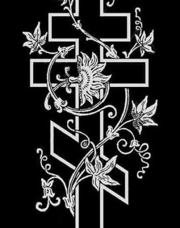 Крест стандартный 11