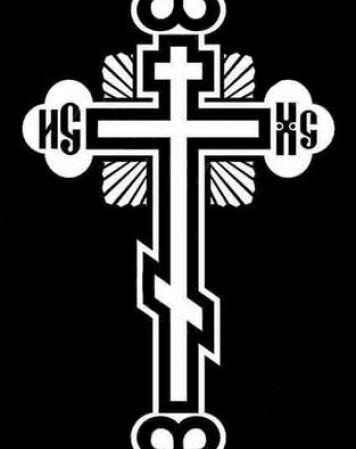 Крест стандартный 10
