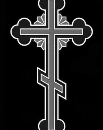 Крест стандартный 14