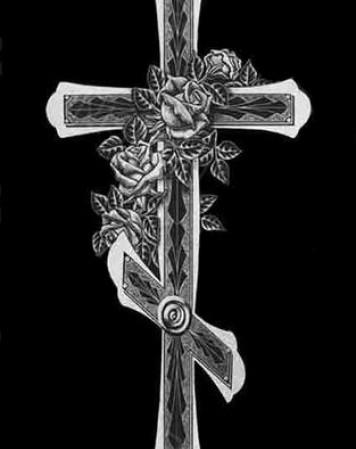 Крест стандартный 13