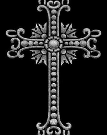Крест стандартный 12